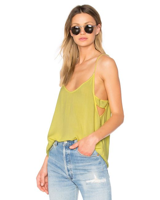 Project Social T - Multicolor Astrid Banded Side Tank - Lyst