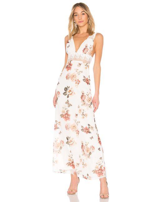MAJORELLE - Maggie Dress In White - Lyst