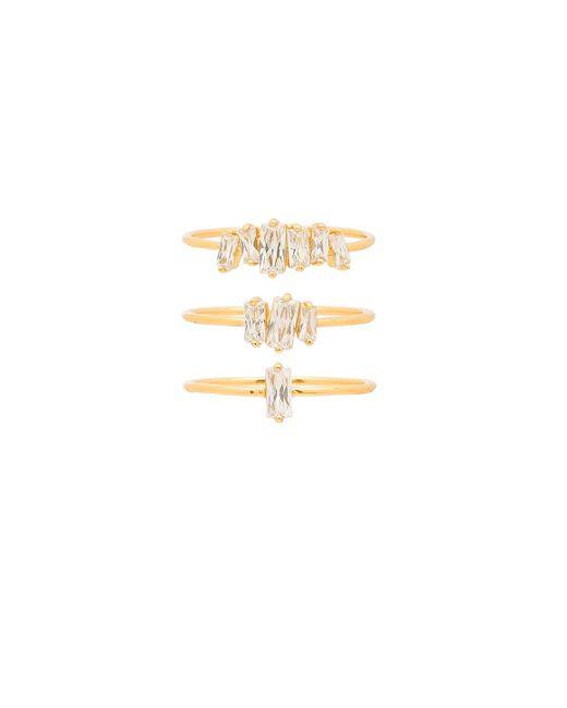 Gorjana - Metallic Amara Ring Set - Lyst