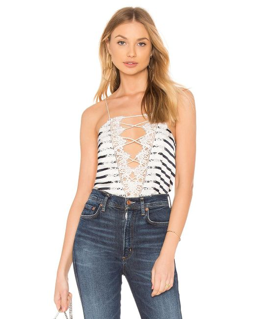 Cami NYC - Blue The Charlie Cami In White - Lyst