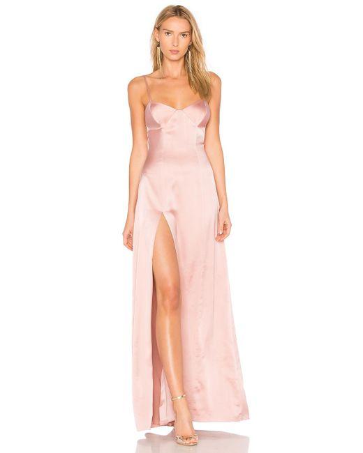 Michelle Mason   Pink Bustier Gown   Lyst