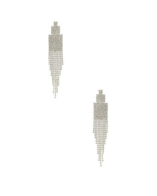 Amber Sceats - X Revolve Georgie Earrings In Metallic Silver. - Lyst