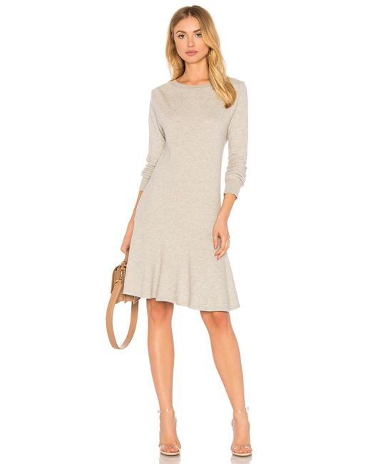 Joie - Runna Dress In Gray - Lyst