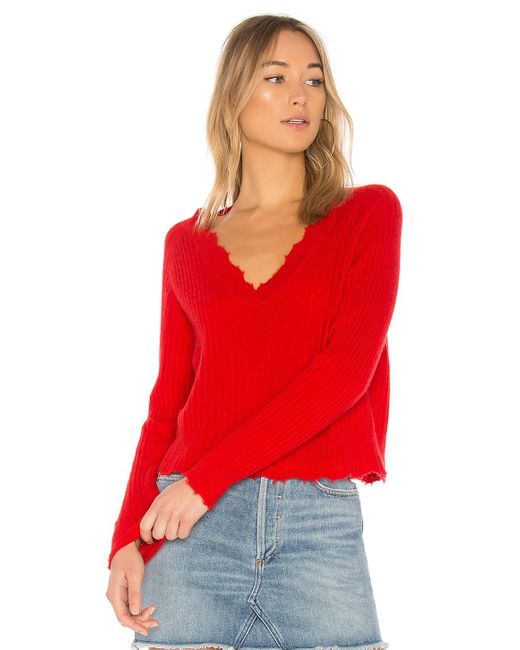 27 Miles Malibu - Red Bette Sweater - Lyst