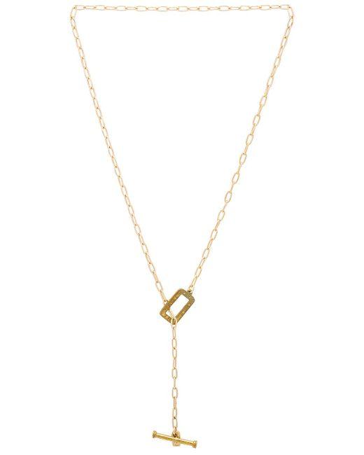 Vanessa Mooney - Metallic Dallas Toggle Necklace - Lyst