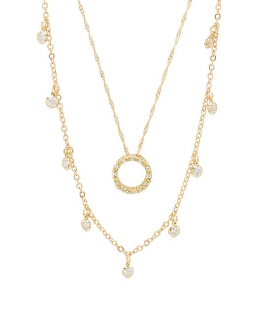 Frasier Sterling - Metallic What Goes Around Necklace Set - Lyst