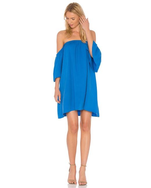 Blaque Label | Blue Baby Doll Dress | Lyst