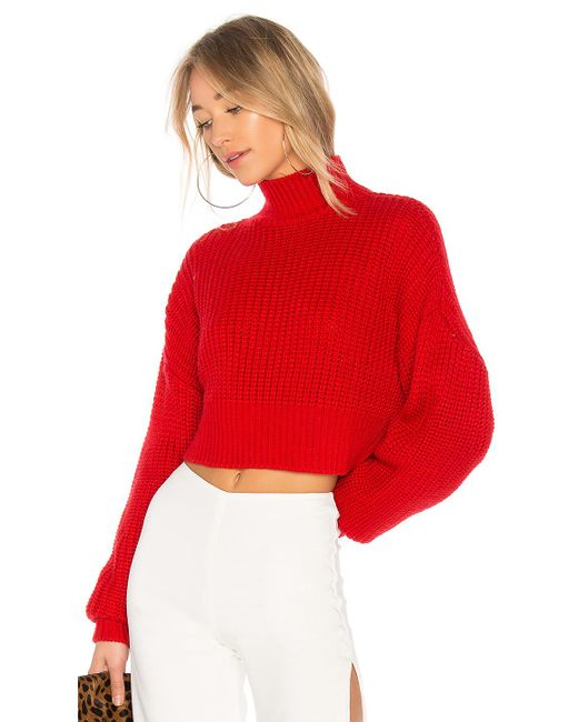 Lovers + Friends - Red X Revolve Union Sweater - Lyst
