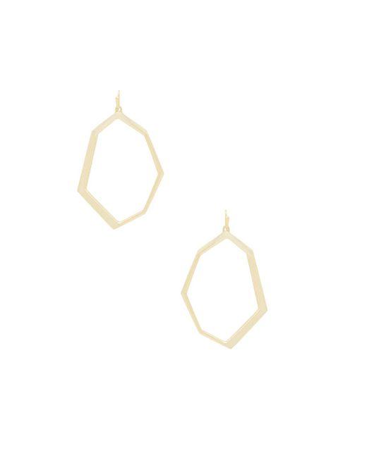 Kendra Scott - Lindsey Earrings In Metallic Gold. - Lyst