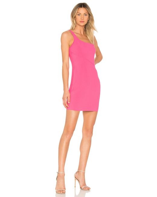 Likely - Pink Maisey Dress In Fuchsia - Lyst