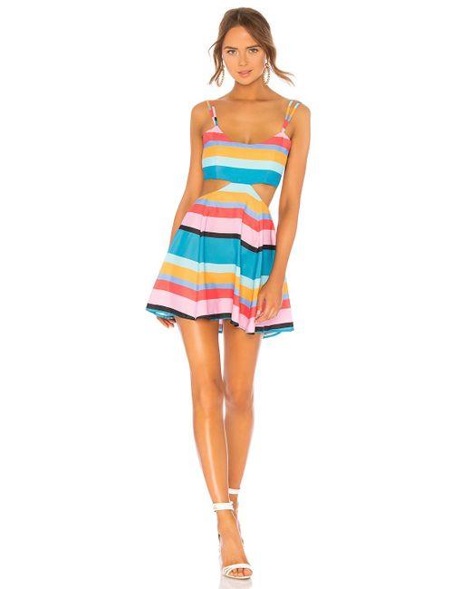 Lovers + Friends Blue Alexandra Dress