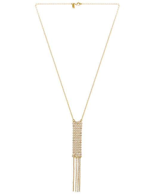 Vanessa Mooney - The Paris Necklace In Metallic Gold. - Lyst