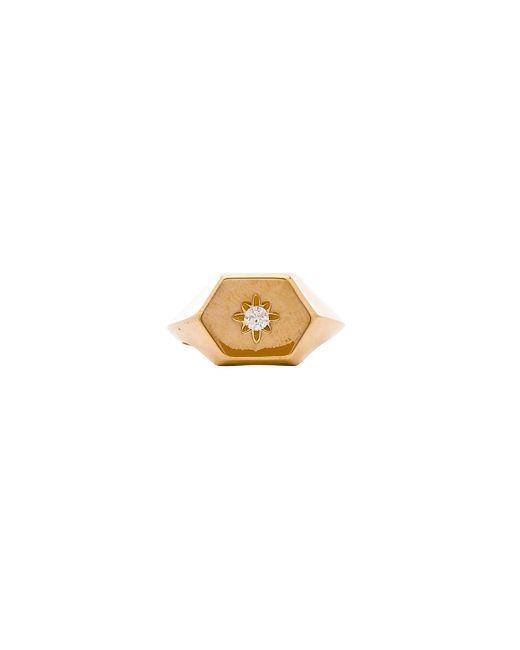 Natalie B. Jewelry - Metallic Star Gazer Signet Ring - Lyst