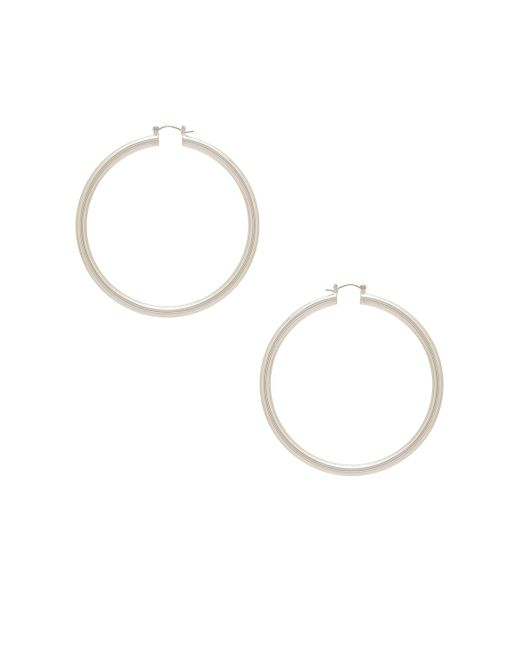 8 Other Reasons | Metallic Infinity Hoop | Lyst