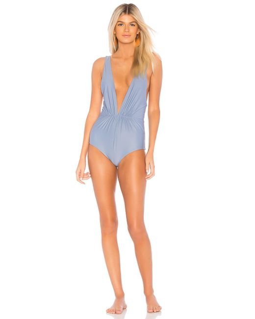 Tori Praver Swimwear - Andie One Piece In Baby Blue - Lyst