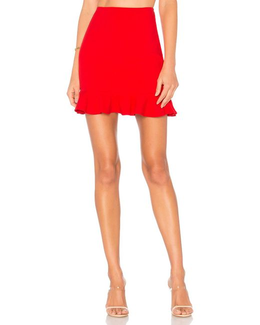 Lovers + Friends - Red Flamingo Skirt - Lyst