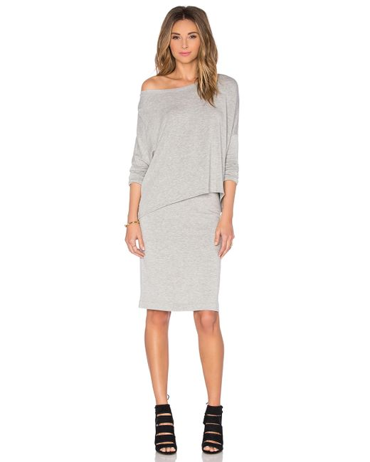 beautiful pencil skirt in gray save 43 lyst