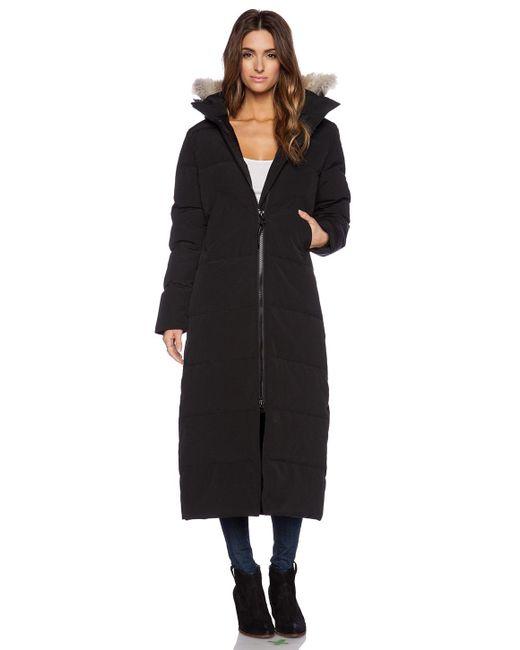 Canada Goose | Black Mystique Fur-Hood Parka | Lyst