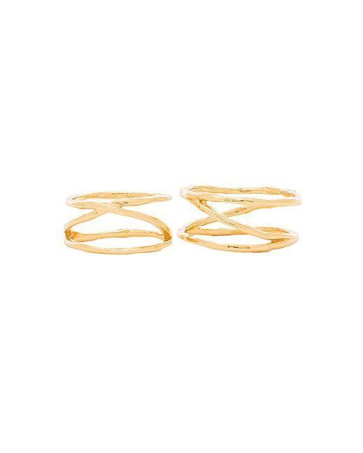 Gorjana   Metallic Isla Ring & Midi Set   Lyst