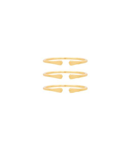 Gorjana | Metallic Kona Ring Set | Lyst