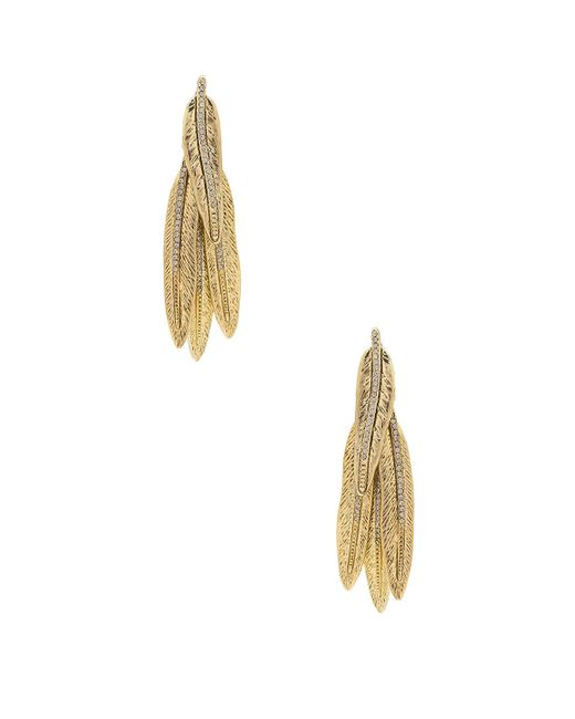 House of Harlow 1960   Metallic Cedro Dangle Earrings   Lyst