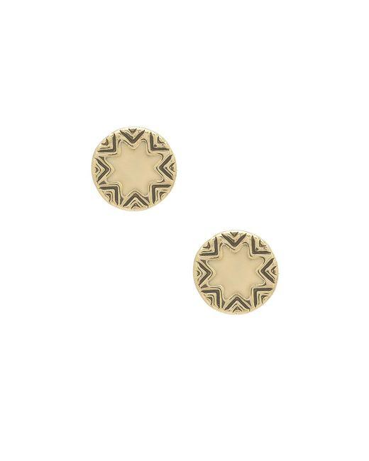 House of Harlow 1960 | Metallic Mini Sunburst Earrings | Lyst