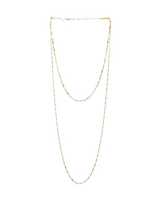 Jennifer Zeuner | Metallic Asturia Double Necklace | Lyst