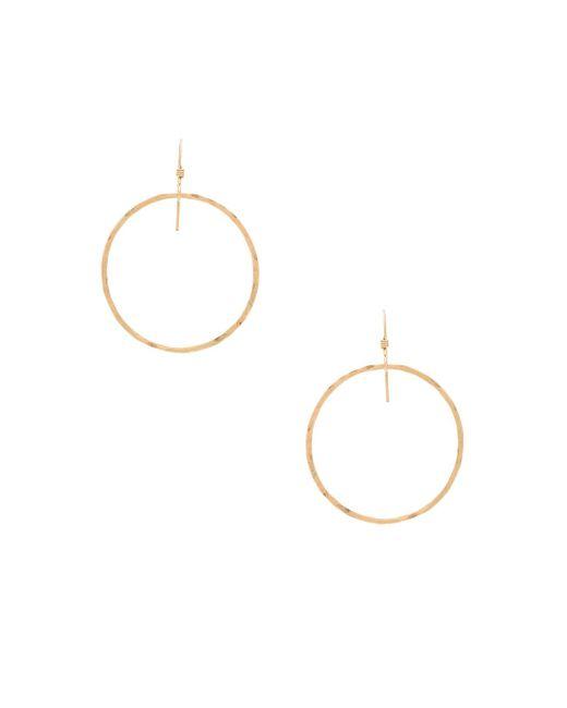 Mimi & Lu | Metallic Jackson Earrings | Lyst