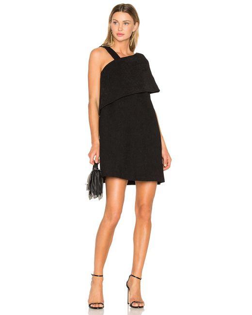 Paper London | Black Zaha Dress | Lyst