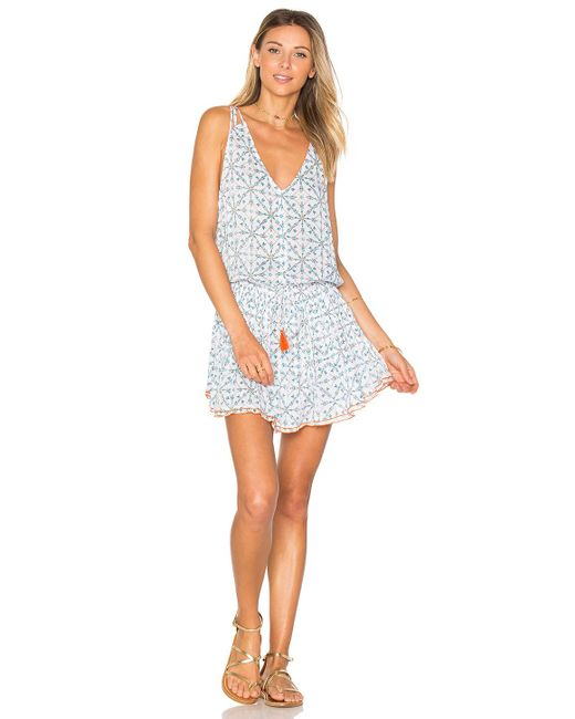 Poupette | Blue Hana Mini Dress | Lyst