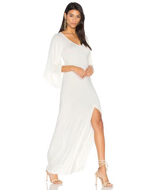Rachel pally Megane Dress in White | Lyst
