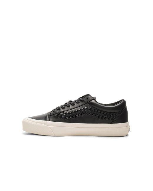 Vans | Black Old Skool Weave Dx | Lyst
