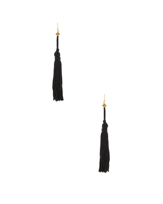Vanessa Mooney | Metallic The Lovell Tassel Earring | Lyst