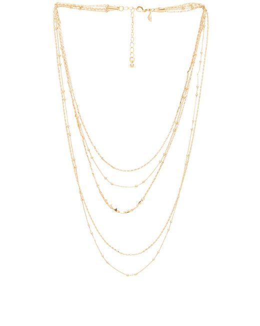Rebecca Minkoff - Metallic Ellie Triangle Necklace - Lyst