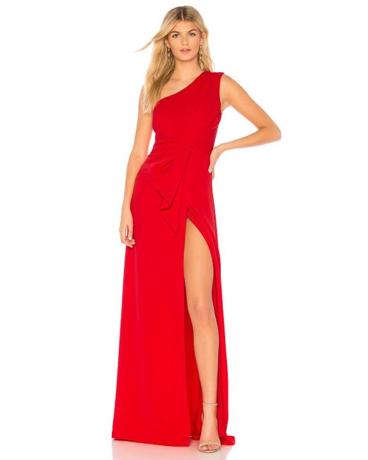 Jay Godfrey - Butler Gown In Red - Lyst