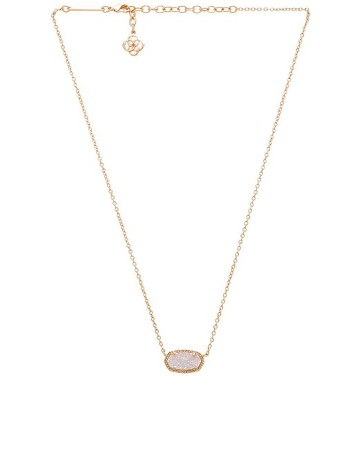 Kendra Scott - Elisa Necklace In Metallic Gold. - Lyst