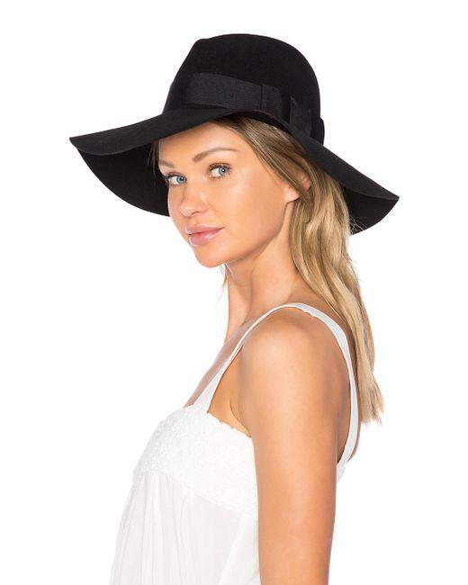 4b8d4fde ... Brixton - Black Piper Hat - Lyst ...