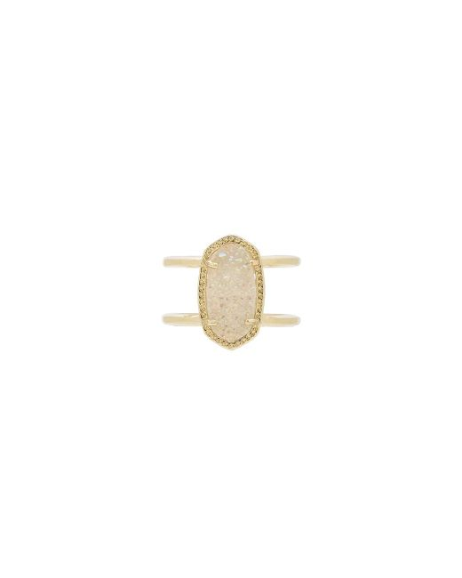 Kendra Scott - Metallic Elyse Ring - Lyst