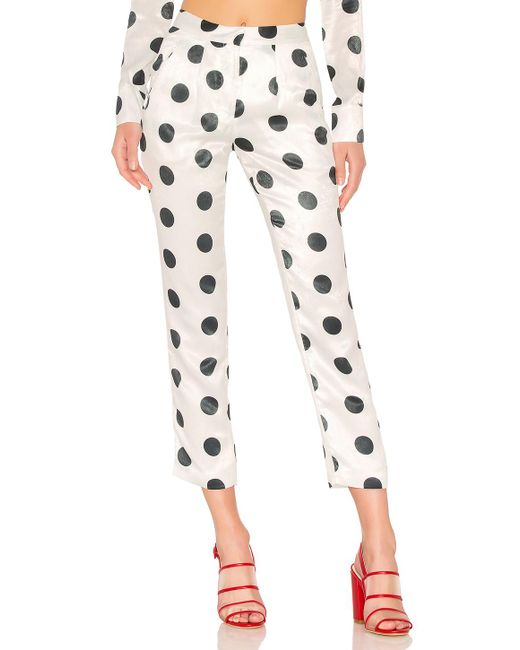 House of Harlow 1960 - Multicolor X Revolve Vincent Pant In White - Lyst