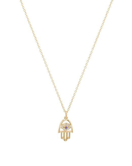 Vanessa Mooney - Metallic Christie Necklace - Lyst