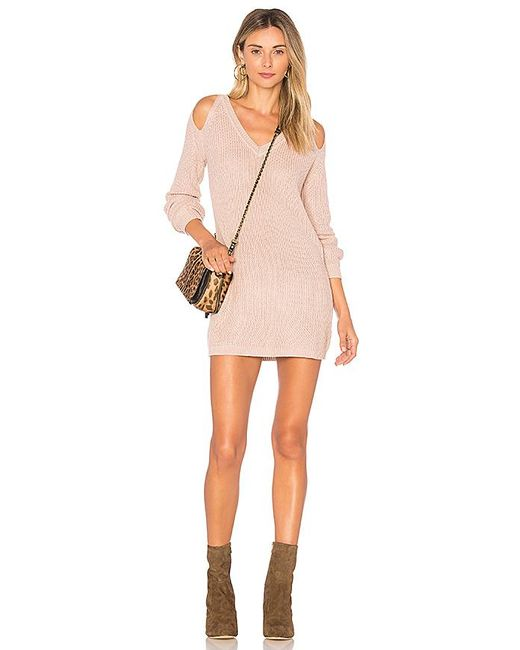 Lovers + Friends - Natural She Can Sweater In Nude - Lyst