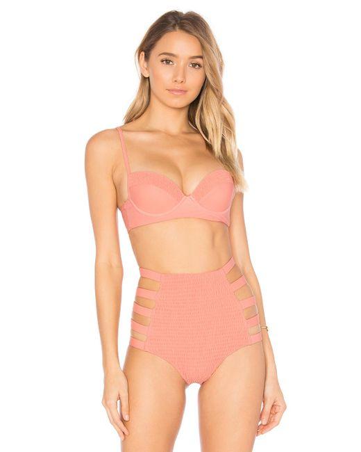 Tori Praver Swimwear   Multicolor Eva Bikini Top   Lyst