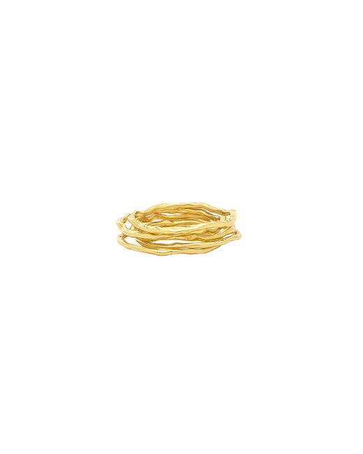 Gorjana - Metallic Waverly Ring Set - Lyst