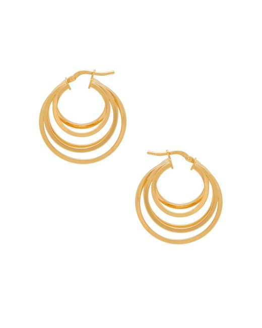 Amber Sceats - Metallic Kenzie Earring - Lyst