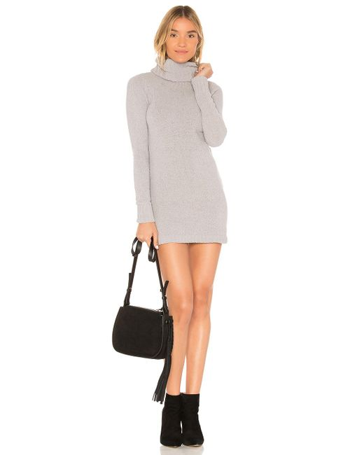 Lovers + Friends - Colby Dress In Light Gray - Lyst