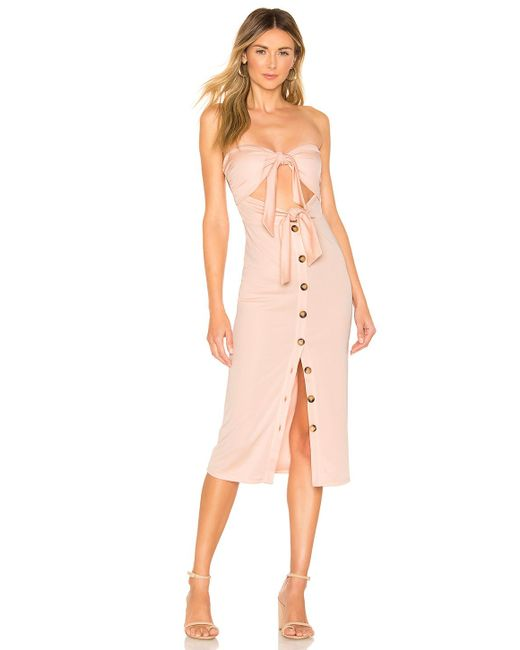 51a8d1e1469 House of Harlow 1960 - Pink X Revolve Colette Dress - Lyst ...