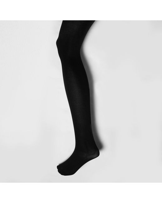 River Island - Black 80 Denier Tights Multipack - Lyst