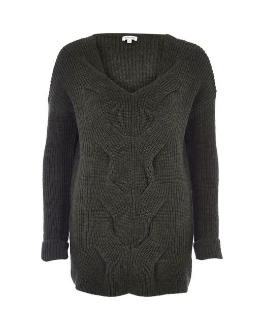 River Island Chunky Cable Knit Sweater
