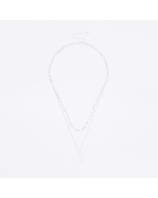 River Island - Metallic Tone Wasp Necklace for Men - Lyst