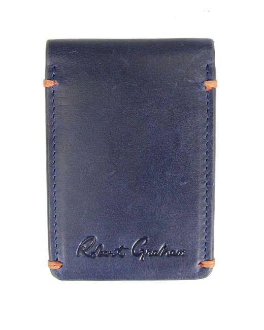 Robert Graham - Blue Salamon Magnetic Cardcase for Men - Lyst